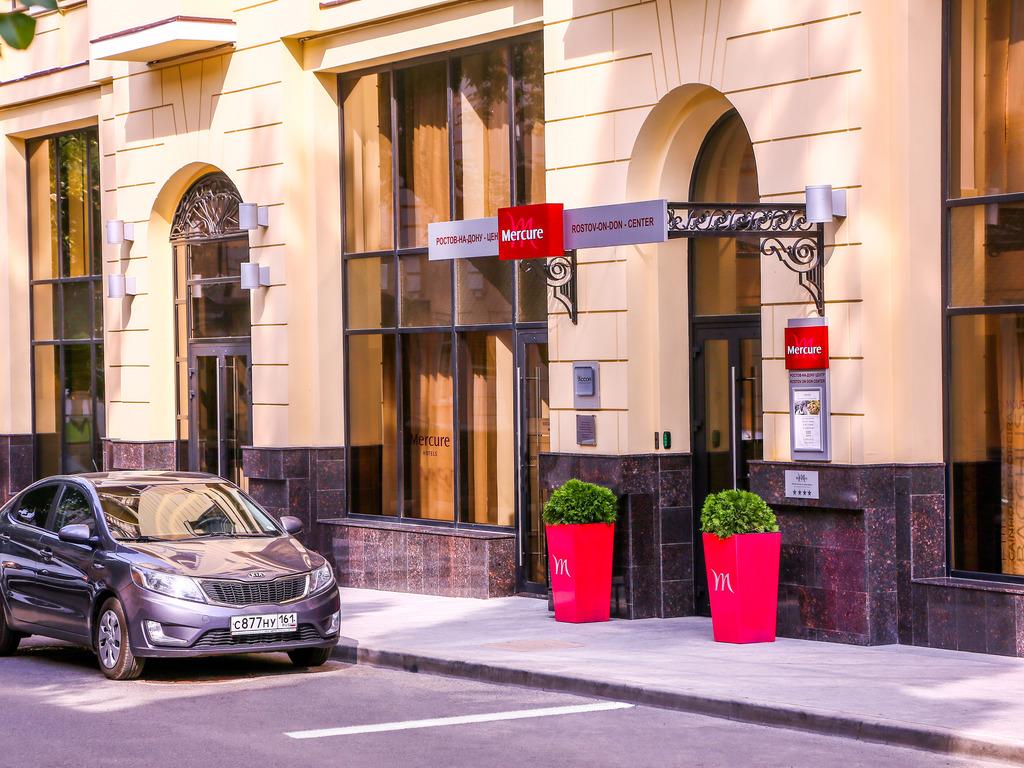 Mercure Rostov On Don Center. Face ? l'h?tel de ville, ? 500 m d'alleya Pushkinskaya, une des rues les plus belles et les plus anim?es de la ville, le