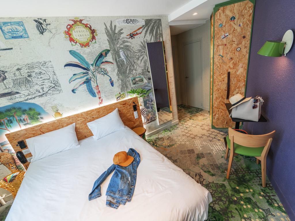 ibis Styles Paris Boulogne Marcel Sembat. Petit d?jeuner + Wifi illimit? inclus dans tous les prix de l'ibis styles Paris Boulogne Marcel Sembat. Situ